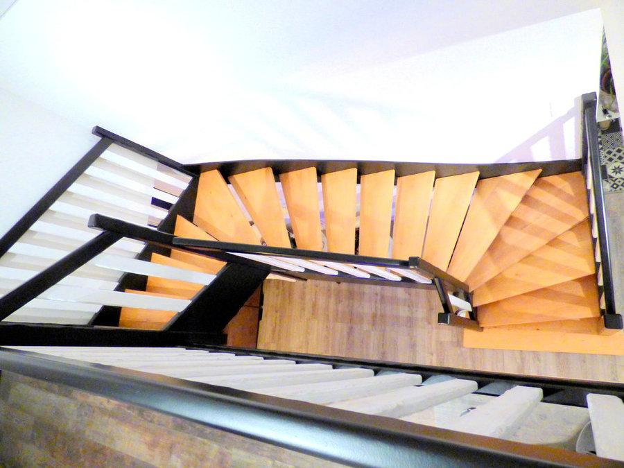 Mise en peinture d'escaliers