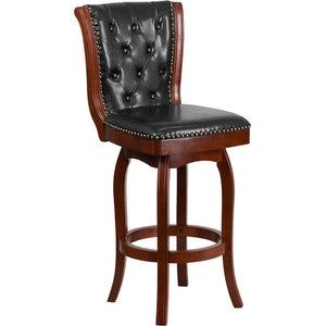 Terrific Hillsdale Douglas Wood Stool Traditional Bar Stools And Machost Co Dining Chair Design Ideas Machostcouk