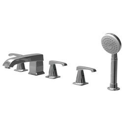 Contemporary Tub And Shower Faucet Sets by Parmir Water Systems, Inc.