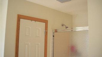 Interior bathroom before pic