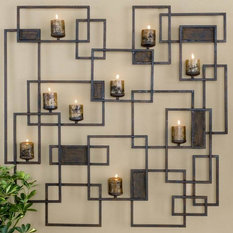 Uttermost 20850 Siam Metal Candlelight Wall Sculpture