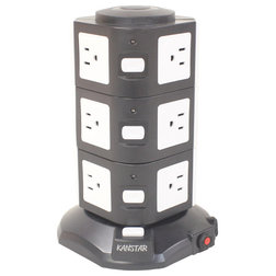Contemporary Extension Cords And Power Strips by MYFUN CORP