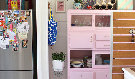Colourful Ways to Make Over Your Kitchen Cabinetry