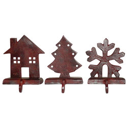 Rustic Christmas Stockings And Holders by GwG Outlet