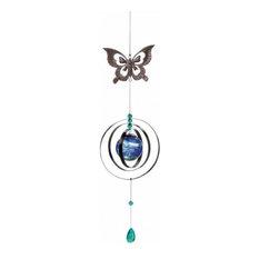 Glow-In-The-Dark Butterfly Wind Spinner