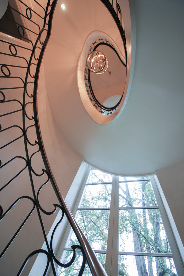 Sculptural/Elliptical Staircase Near Foreign Embassies in Wash. DC, 20008