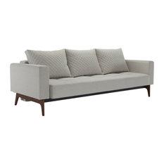 Cassius Quilt Deluxe Sofa, Mixed Dance Natural