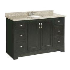 Design House   Ventura Espresso Vanity Cabinet With 2 Doors And 4 Drawers,