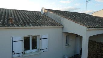 Nettoyage et traitement toiture et façade