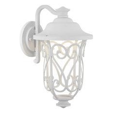 "Progress P560104-030-30 Leawood - 8"" 9W 1 LED Outdoor Small Wall Lantern"