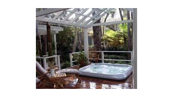 Hot Tub Design Idea from Jacuzzi
