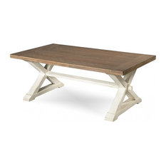 Emma Mason Signature Humble Bee Cocktail Table Terrace Gray/Washed Linen