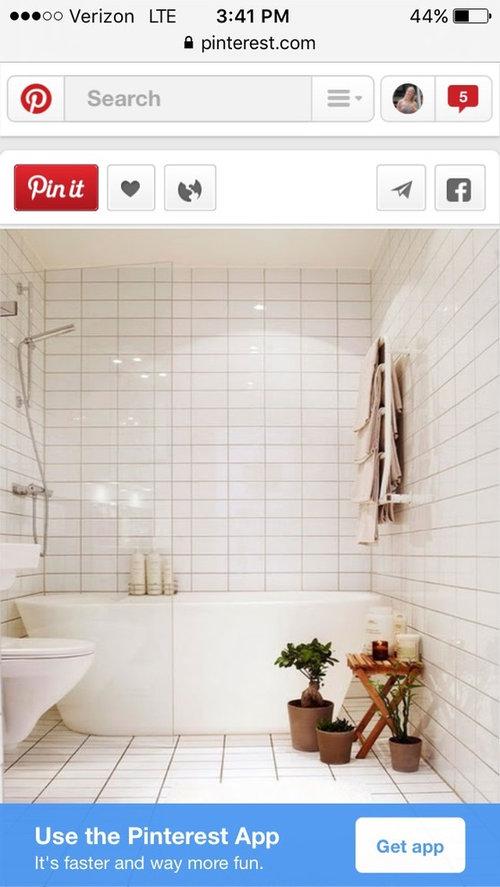 Freestanding tub/shower combo