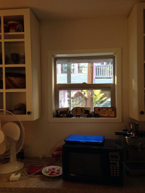 Subway Tiles Around Kitchen Window