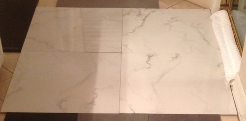 Polished Porcelain Tile VS Unpolished Porcelain Tile For Bathroom Floo - Slick tile floors