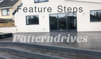 Patterned Concrete Driveways