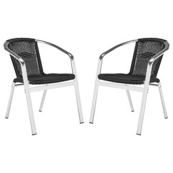 Contemporary Outdoor Lounge Chairs by Safavieh