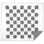 VHC Brands - Emmie Luxury King Quilt - An on trend yet classically styled look for the modern farmhouse, the Emmie Luxury King Quilt captures attention with contrasting black and white, creating a statement look for your bedroom. The heart of this quilt is an 8-point star set within a patchwork block of checks, microchecks and ticking stripes. Hand-quilted, 100% cotton. Coordinates perfectly with Annie Black accessories.