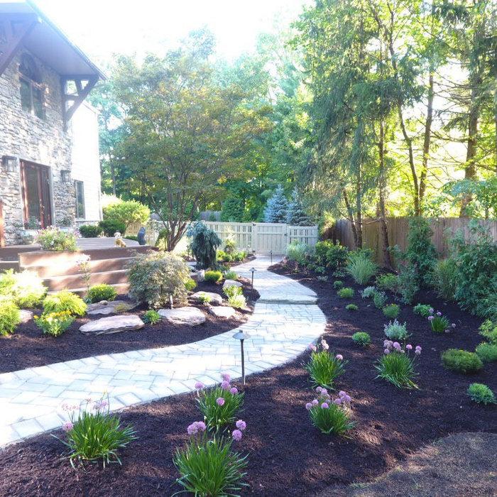Elegant Front yard landscape design