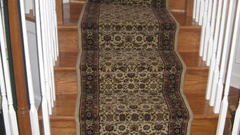Stair Runner Installation in Baltimore, Maryland