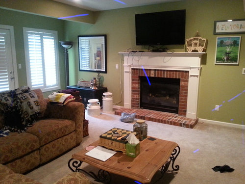 I Want To Paint My Fireplace Mantel Black Help