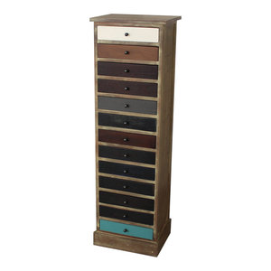 Tall 13 Drawer Chest of Drawers - Loft Living Range
