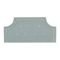 Safavieh Tallulah Sky Blue And White Headboard Full