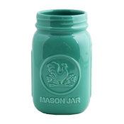 Mason Jar, Aqua
