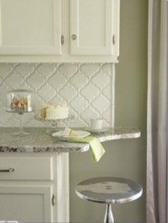 How to finish edges on glass mosaic tile backsplash