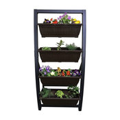 Vertical Garden Freestanding Raised Elevated Bed Planter for Patio Yard Deck