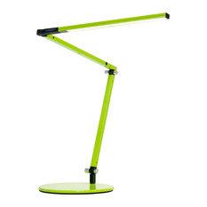 koncept inc zbar mini led desk lamp with base warm light