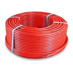 """Pexflow Oxygen Barrier PEX Tubing, 3/8"""" x 100 Feet, Red"""