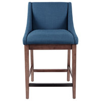 INK+IVY Dean Counter Stool, Blue