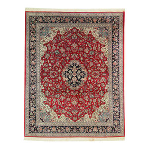 Isfahan Rug Persian Rug 11 10 Quot X8 6 Quot Hand Knotted Classic