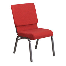 Fabric Chair, Red