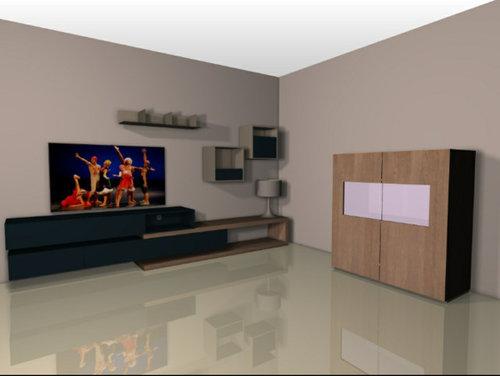 Consiglio colore parete tv soggiorno