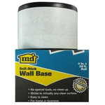 "M-D Building Products - 4"" X 20' Black Vinyl Adhesive Backed Cove Base - *Size: 4"" Tall X 20' Long"