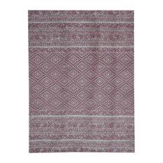 Sunny Vintage-Look Outdoor Area Rug, Pale Pink, 160x230 cm