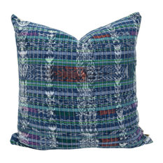 Santa Maria Decorative Pillow, Authentic Guatemalan Maya Corte