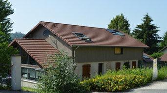 Surélévation de maison au Pin dans l'Isère