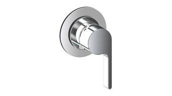 Doremi Concealed Single-Lever Shower Mixer, Chrome