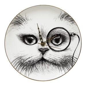 Cat Monocle Clock, Small