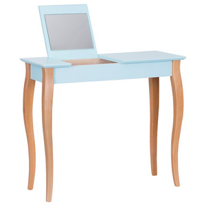 Lilo Medium Scandinavian Dressing Table, Pale Turquoise
