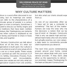 + Delivering Peace of Mind
