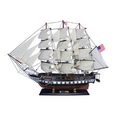 Wooden USS Constitution Tall Model Ship 30'', Wooden Models, Model Tall Ships