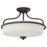 3-Light Flush Mount, Dining/Living Room Foyer Ceiling Light