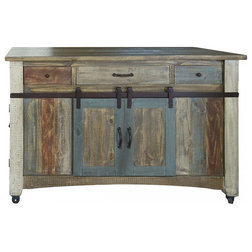Farmhouse Kitchen Islands And Kitchen Carts by Burleson Home Furnishings
