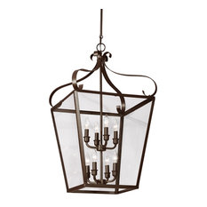 Sea Gull Lighting 8-Light Hall/Foyer, Heirloom Bronze