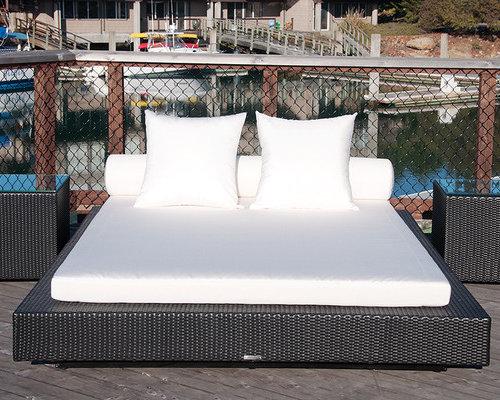Bali Patio Platform Beds   Patio Furniture And Outdoor Furniture