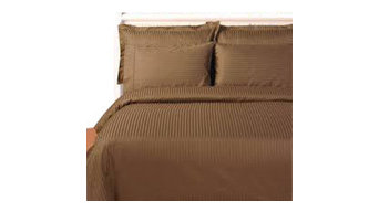 1000TC Stripe King Size Gold Color Sheet Set
